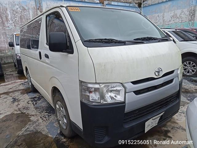 2018 Toyota Hiace Commuter 3.0