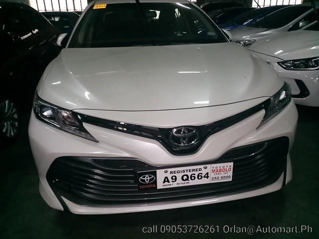 2019 Toyota Camry G 2.5