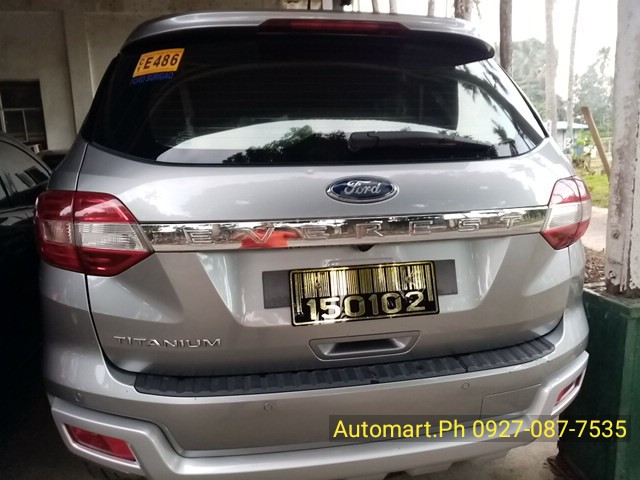 2018 Ford Everest Titanium Premium 4x2 2.2