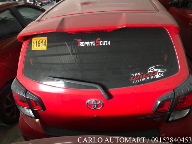 2018 Toyota Wigo G 1.0