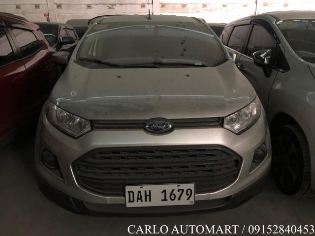 2018 Ford Ecosport Ambiente 1.5
