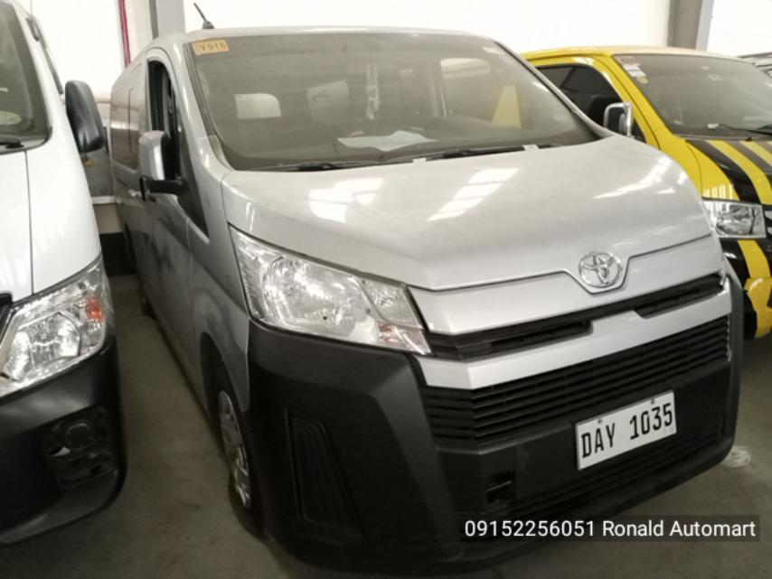 2020 Toyota Hiace Commuter Deluxe 2.8