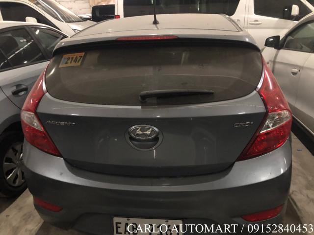 2018 Hyundai Accent Hatchback E 1.6