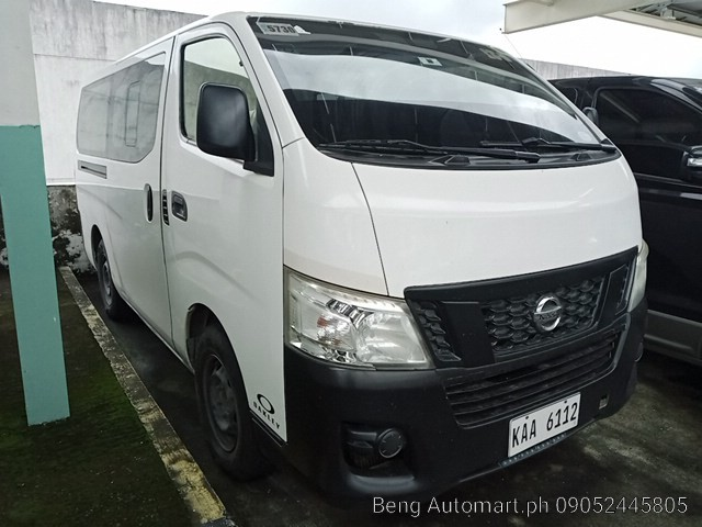 2017 Nissan Urvan NV350 2.5