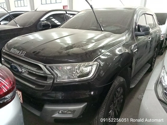 2018 Ford Everest Trend 4x2 2.2