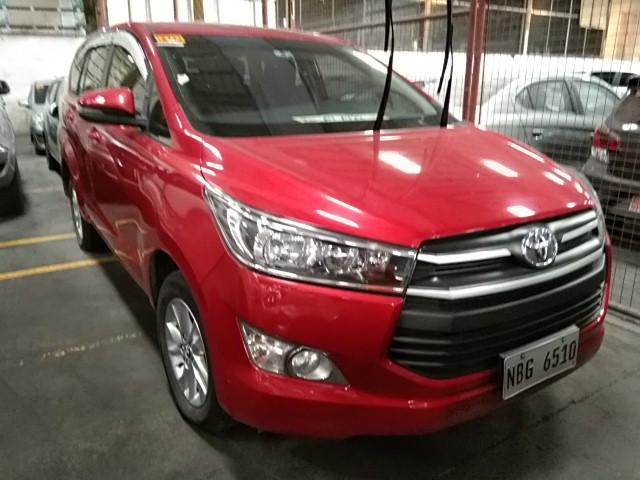 2018 Toyota Innova E