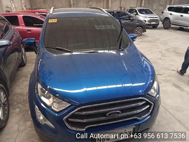 2018 Ford Ecosport Titanium 4x2 1.0