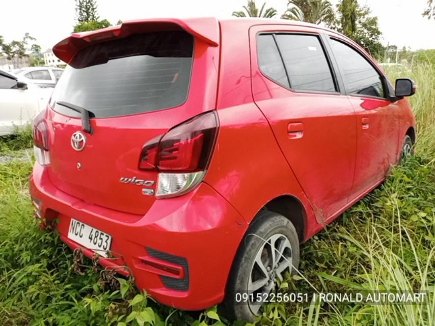 2018 Toyota Wigo  1.0