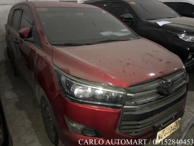 2018 Toyota Innova J 2.8