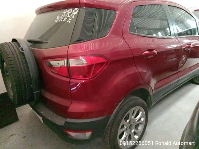 2019 Ford Ecosport Trend 4x2 1.5