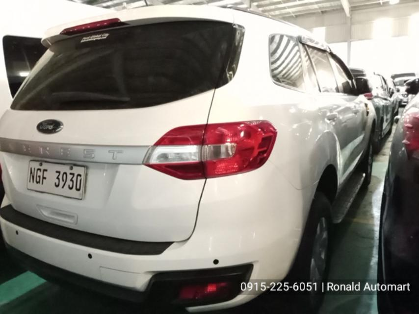 2018 Ford Everest Ambiente 4x2 2.2