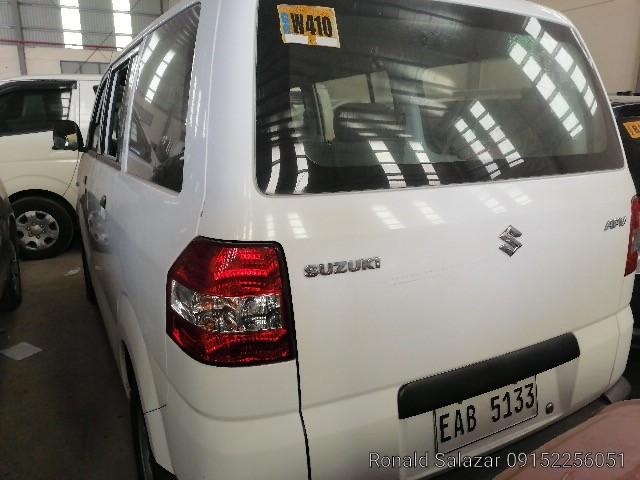 2018 Suzuki Apv GA
