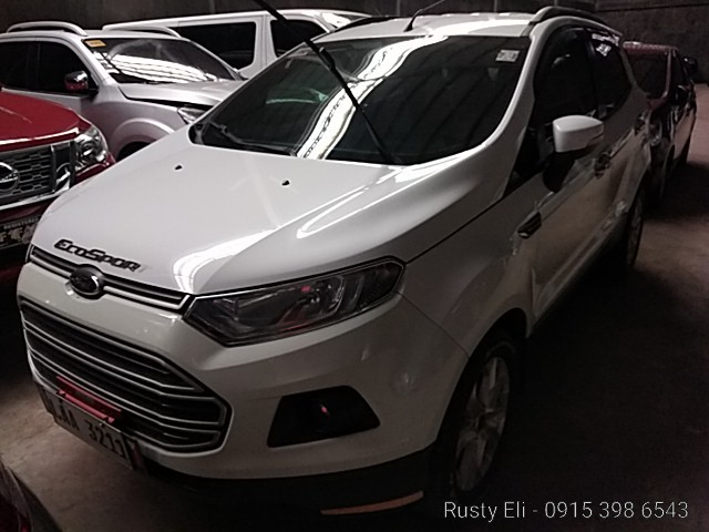 2017 Ford Ecosport Trend 1.5