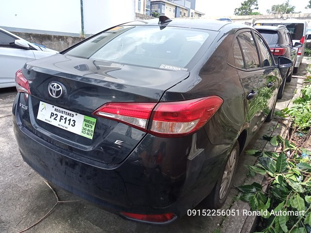 2019 Toyota Vios E 1.3