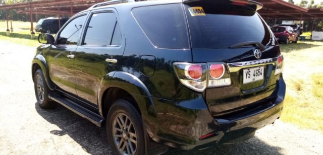 2016 Toyota Fortuner G 2.5